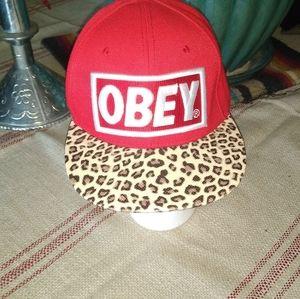 Obey Womans Sports Hat